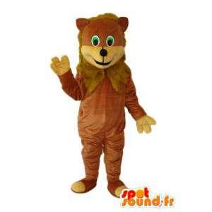 Representing a lion costume - Customizable - MASFR003854 - Lion mascots