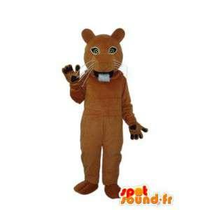 Kostume, der repræsenterer en bæver - bæverkostume - Spotsound