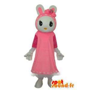 Traje do coelho adolescente - traje do coelho adolescente - MASFR003880 - coelhos mascote