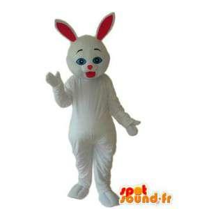 Disfraz de conejo blanco - blanco traje de conejo - MASFR003881 - Mascota de conejo