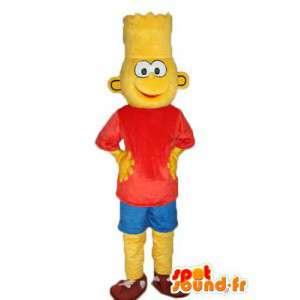 Mascote da família Simpson - Traje Simpson Bart - MASFR003889 - Mascotes Os Simpsons