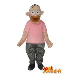 Maskottchen der Fehler Simpsons - Homer Simpson Kostüm