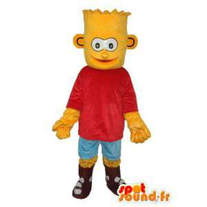 Disfarçar a falha Simpson - Traje Simpson Bart - MASFR003891 - Mascotes Os Simpsons