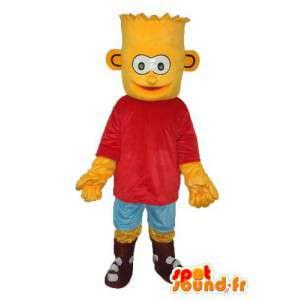 Verkleiden Sie den Fehler Simpson - Bart Simpson Kostüm - MASFR003891 - Maskottchen der Simpsons