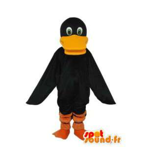 Musta Duck puku Chough - Muokattavat - MASFR003896 - maskotti ankkoja