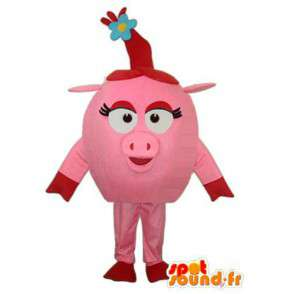 Costume head sow - Disguise head sow - MASFR003899 - Mascots pig