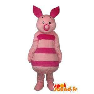 Kostüm rosa Schweineohren und rosa Schnauze - MASFR003902 - Maskottchen Schwein
