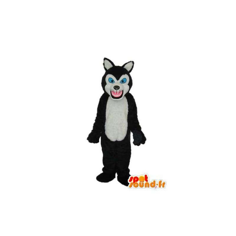 Kostüm die eine böse Wolf - Anpassbare - MASFR003905 - Maskottchen-Wolf
