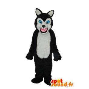 Costume représentant un loup en colère - Personnalisable - MASFR003905 - Mascottes Loup