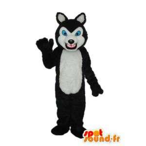 Kostume, der repræsenterer en sibirisk husky - kan tilpasses -