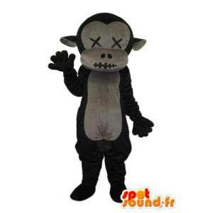 Disfraz de mono ciego y mudo - Personalizable