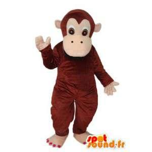 Costume av en ape - flere størrelser Disguise