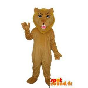 Lion mascot plush brown - Lion disguise  - MASFR003913 - Lion mascots