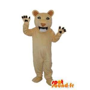 Cub mascot plush brown - Lion costume  - MASFR003914 - Lion mascots