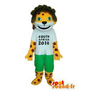 Lion mascot world cup - Disguise events - MASFR003915 - Lion mascots