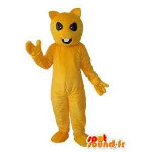 Solid yellow bunny costume - Plush bunny costume - MASFR003926 - Rabbit mascot