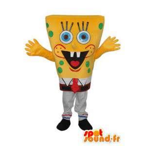 Mascot Bob Esponja - Bob Esponja Disguise - MASFR003944 - Mascotes Bob Esponja