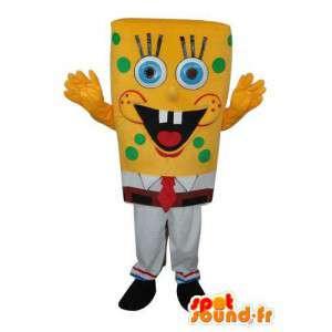 Mascot Bob Esponja - Bob Esponja Disguise - MASFR003945 - Mascotes Bob Esponja