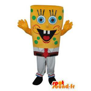 Mascot Spongebob - Spongebob Kostüme - MASFR003945 - Maskottchen Sponge Bob