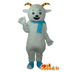 Maskotka pies, niebieski szalik - pies maskotka, niebieski szalik  - MASFR003946 - dog Maskotki