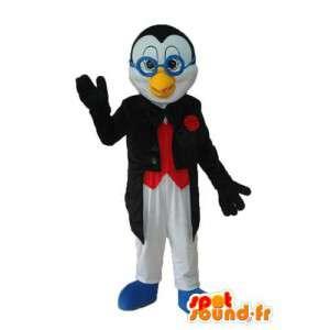 青いメガネのマスコットひよこ-キャラクターコスチューム-MASFR003959-チキンマスコット-オンドリ-チキン