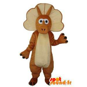 Mascot pulseira marrom pura e luz - traje do dragão