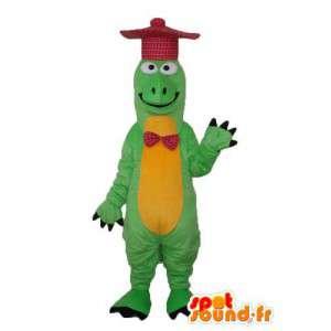 Disfarçar dragão verde e amarelo - traje do dragão verde