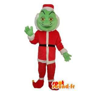 Caráter pai mascote Natal - traje de Papai Noel
