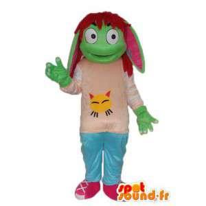 Carácter de la mascota de la tortuga chica - traje del carácter - MASFR004008 - Tortuga de mascotas