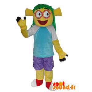 女の子キャラクターとしてのタートルマスコット-キャラクターコスチューム-MASFR004009-タートルマスコット