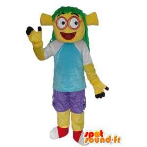Carácter de la mascota de la tortuga chica - traje del carácter - MASFR004009 - Tortuga de mascotas