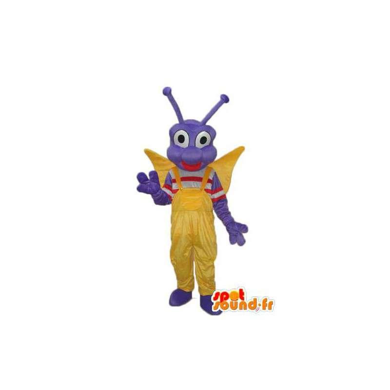 Mascot blå øyenstikker - Character Costumes - MASFR004010 - Maskoter Insect