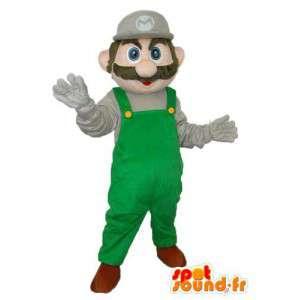 Super Mario mascote - traje Super Mario