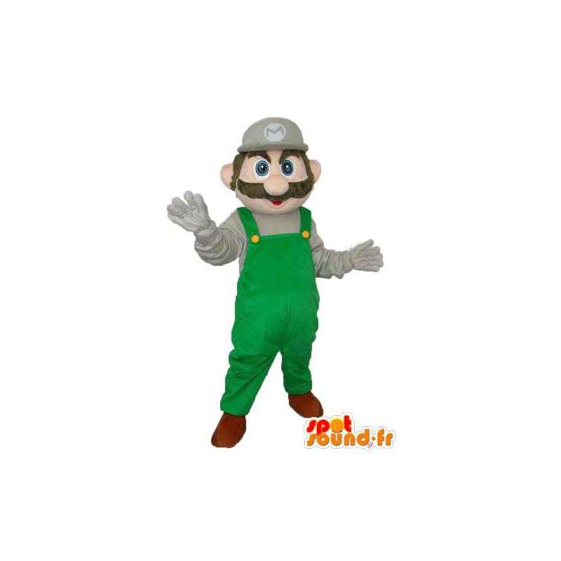 Super maskotti Mario - Super Mario puku - MASFR004015 - Mario Maskotteja