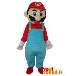 Super Mario Kostüm - Kostüme Super Mario - MASFR004020 - Maskottchen Mario