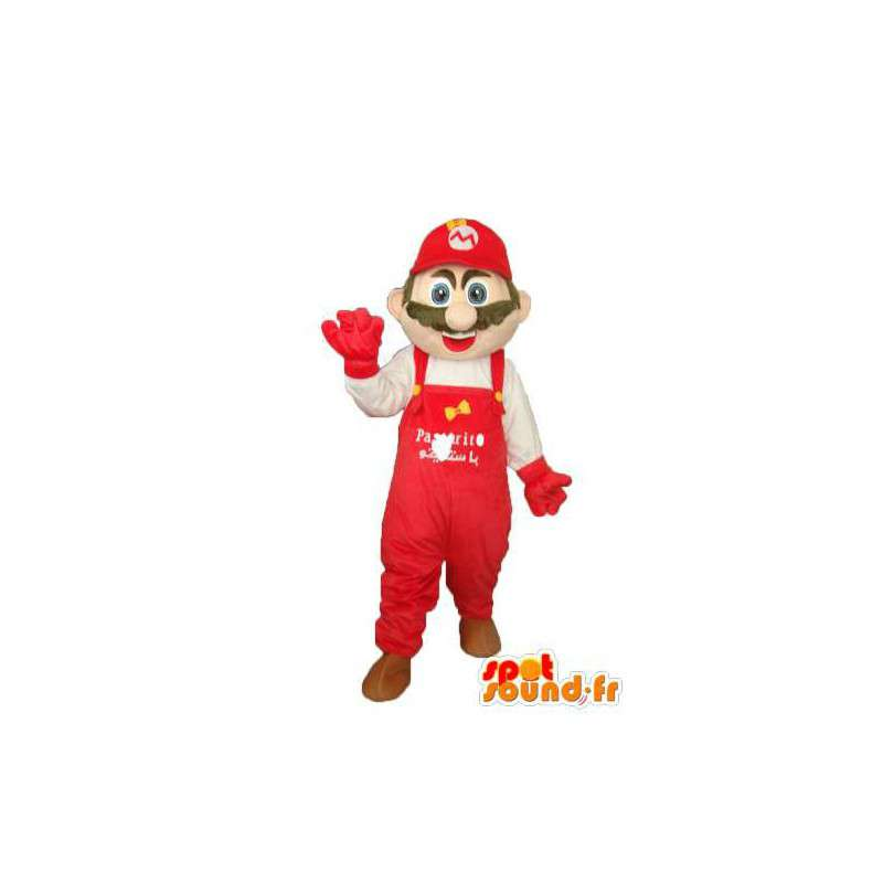 Super Mario costume - Mascot famous character. - MASFR004021 - Mascots Mario