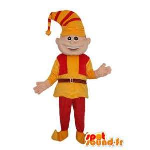 Leprechaun maskotti merkki - tonttu puku - MASFR004024 - joulun Maskotteja