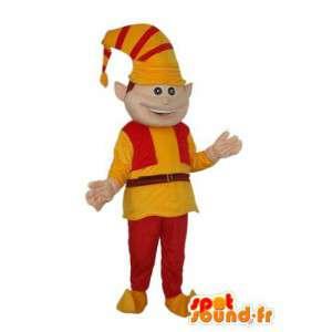 エルフのキャラクターマスコット-エルフのコスチューム-MASFR004025-クリスマスのマスコット
