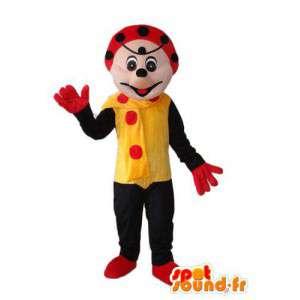 Hiiri maskotti merkki - hiiri puku