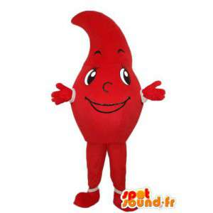 Mascot character punainen tomaatti - tomaatti valepuvussa  - MASFR004030 - hedelmä Mascot