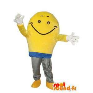 Brede glimlach mascotte karakter - karakter kostuum - MASFR004034 - Niet-ingedeelde Mascottes