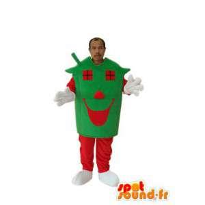 Mascotte de personnage maison – déguisement de maison - MASFR004035 - Mascottes Maison