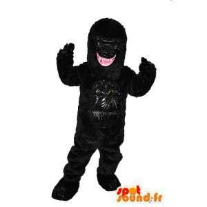 Schwarze Monster Maskottchen - Monster-Kostüm - MASFR004049 - Monster-Maskottchen
