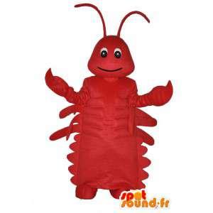 Mascot Red Lobster Britannien - gefüllte Hummer-Kostüm