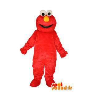 Charakter maskotka pluszowa czerwony - znak kostium - MASFR004069 - Niesklasyfikowane Maskotki
