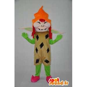 Mascote bruxa de pelúcia - MASFR004079 - Mascotes femininos