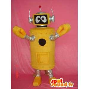 Verkleidet gelbe Entlein - Kostüm gelbe Entlein - MASFR004084 - Maskottchen von Objekten