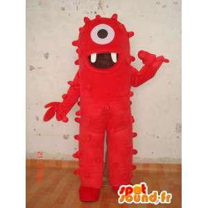 Monsterkostüm - Kostüm Cyclops Monster - MASFR004085 - Monster-Maskottchen