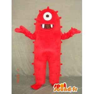 Kostüm Monster Zyklopen - Zyklopen-Monster-Verkleidung - MASFR004087 - Monster-Maskottchen