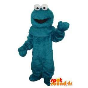 Ghost costume with big green eyes white - green costume - MASFR004092 - Mascots 1 Elmo sesame Street